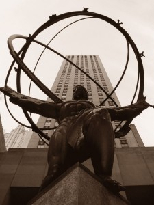 Atlas at Rockefeller Center